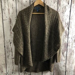 Karen Scott Open Front Shawl Cardigan
